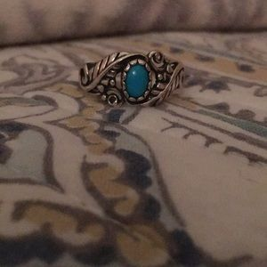 Sterling silver and turquoise ring!